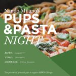 Nando Milano Trattoria to Host Pups & Pasta Event!
