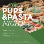 Nando Milano Trattoria to Host Pups & Pasta Event!