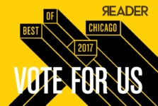 Vote for Windy City Paws as Chicago's Best Dog Walker!